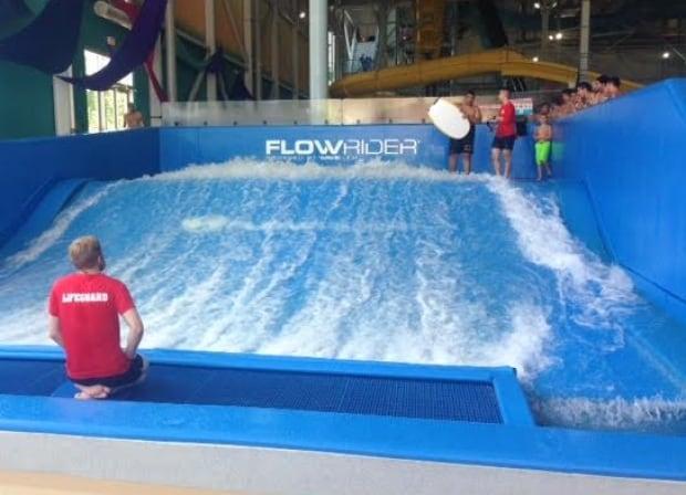 Flowrider at Adventure Bay