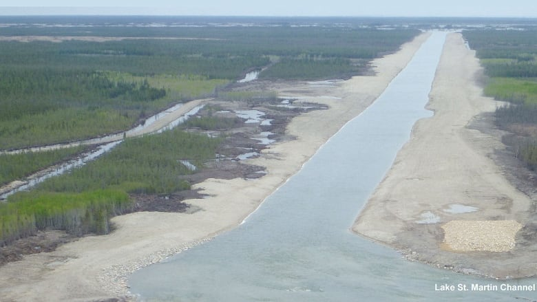 Manitoba First Nations demand halt to flood channel work after lands cleared in private