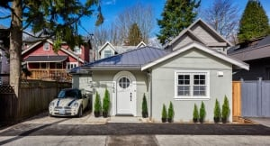 Smallworks laneway house in Greater Vancouver