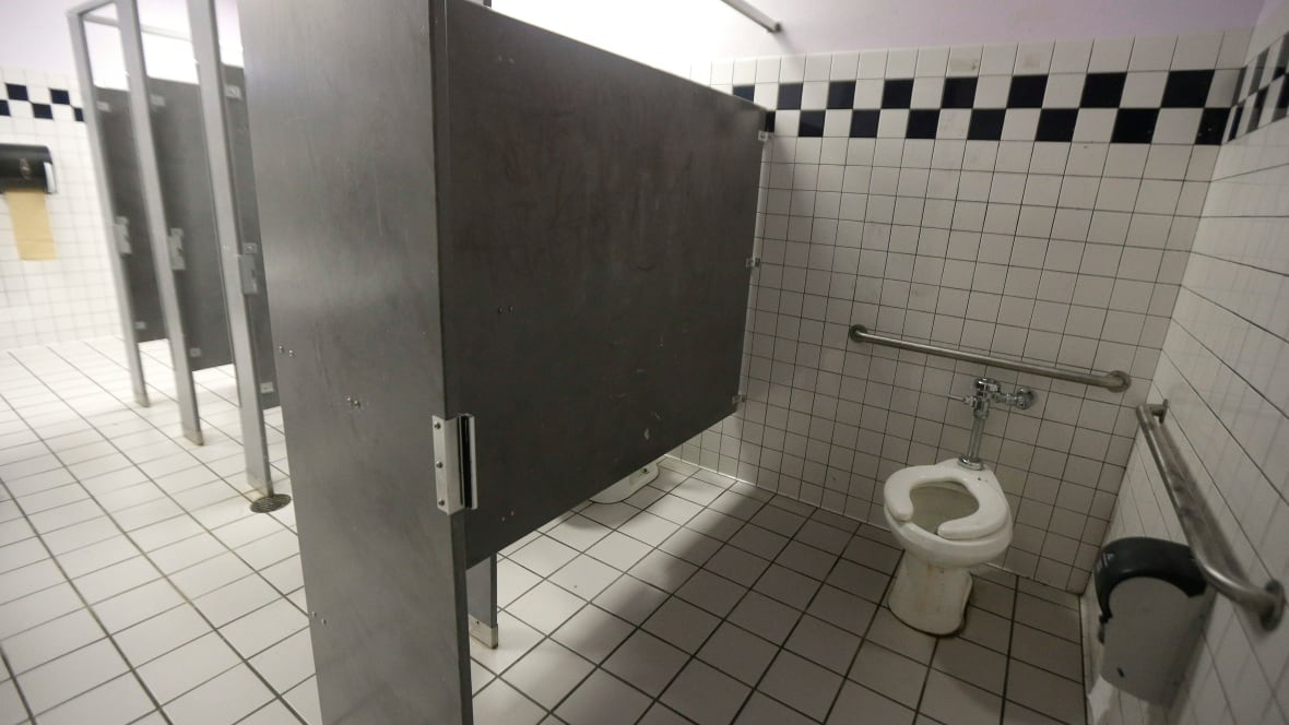 high school boys bathroom