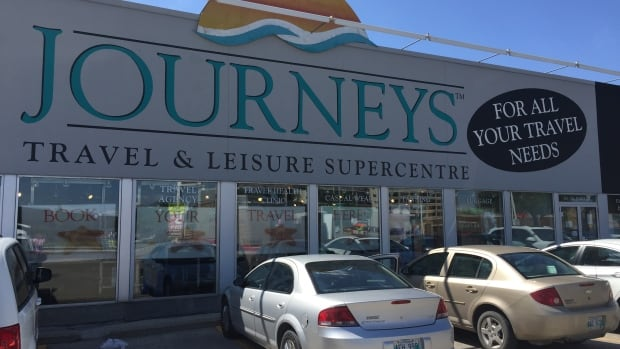 Journeys Travel & Leisure Supercentre located at 326 Wardlaw Ave. is closing its doors.
