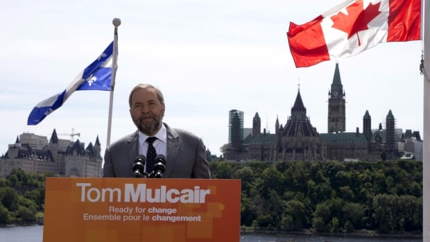To form government in Ottawa, Thomas Mulcair needs to win Quebec.