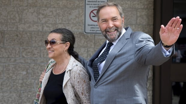New Democratic Party leader Thomas Mulcair begins the marathon campaign as the frontrunner.