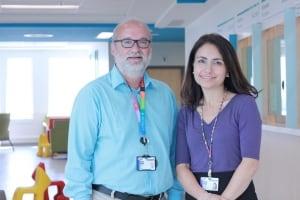 Michael Shevell and Maryam Oskoui