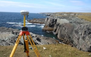 Mistaken Point fossil GPS transmitter