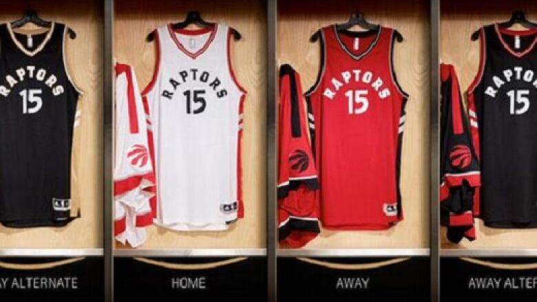 730acab4350f Raptors  new uniforms revealed by Drake at OVO Fest