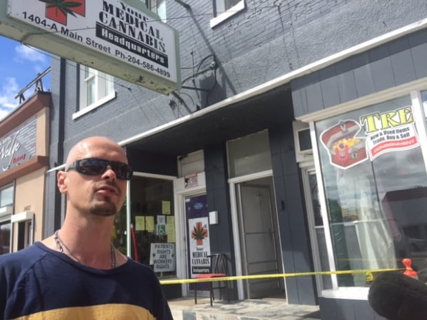 Billy Bell, caretaker at Your Medical Cannabis Headquarters