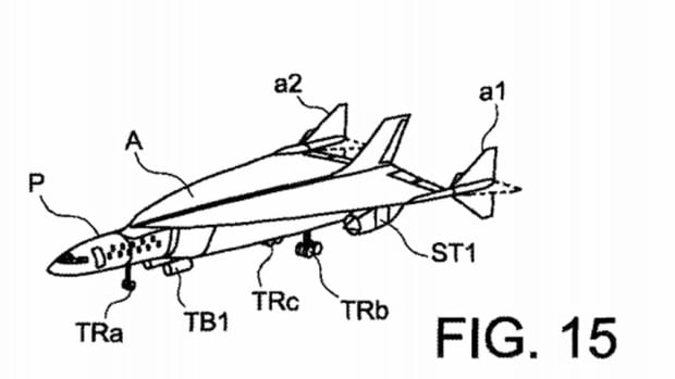 The U.S. patent for an 'ultra-rapid air vehicle and related method for aerial locomotion' was awarded to Airbus, also known as the European Aeronautic Defence and Space Company, in July.