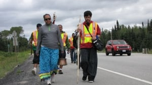Anishinaabe Water Walk