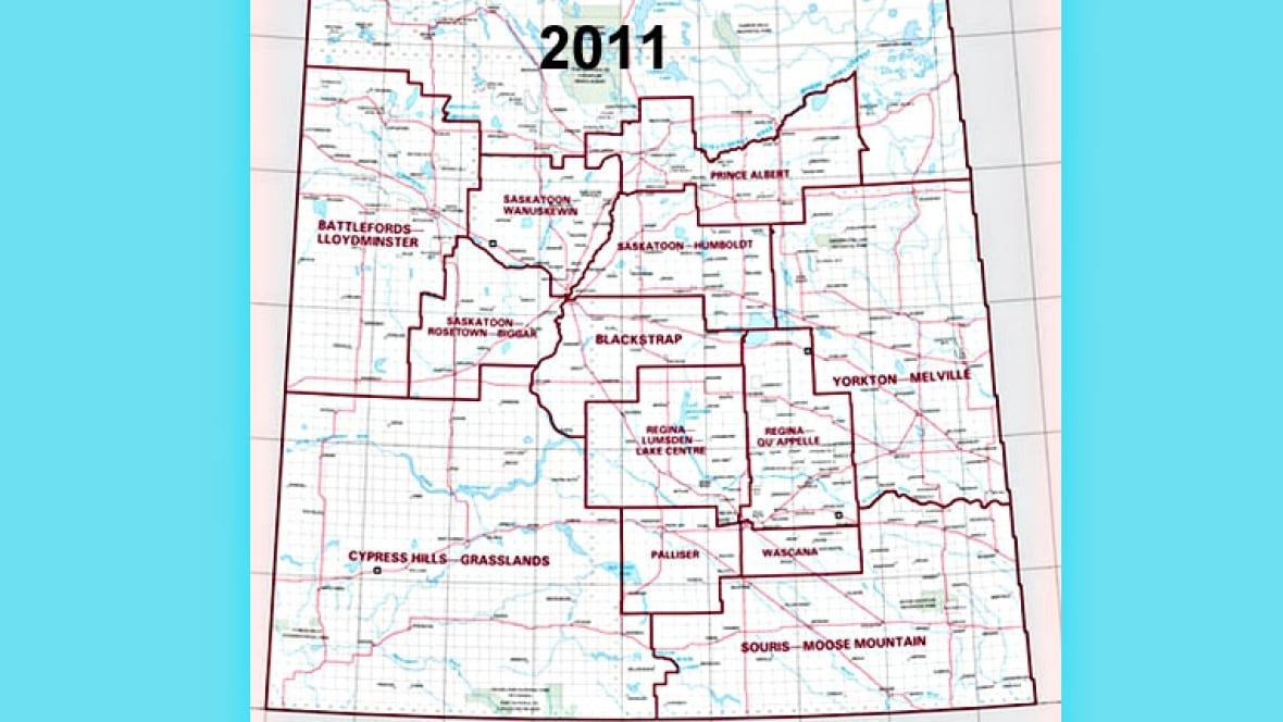 Picture of: Brand New Electoral Map For Saskatchewan Cbc News