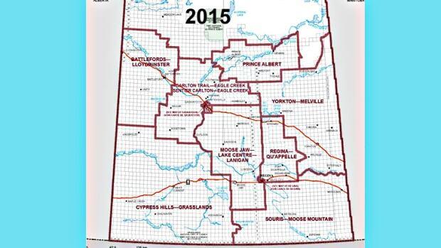 Brand New Electoral Map For Saskatchewan Saskatchewan CBC News - Map of saskatchewan