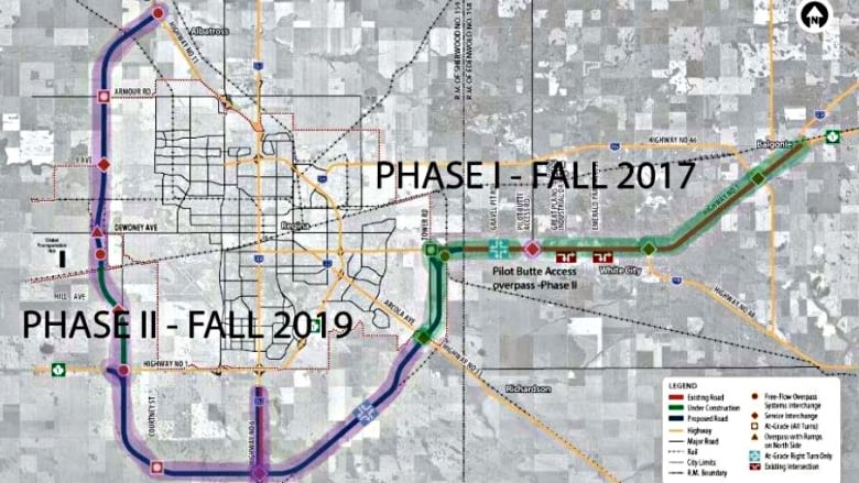 Cost of Regina bypass now pegged at $1 88B | CBC News