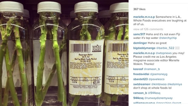 """Somewhere in L.A., Whole Foods executives are laughing at all of us,"" wrote the shopper who originally posted this now-viral photo to Instagram."