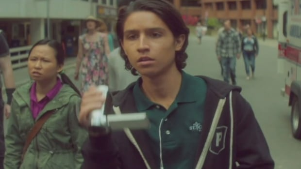 Lorenzo James Henrie plays one of the main characters on Fear the Walking Dead, which was shot in the Lower Mainland.