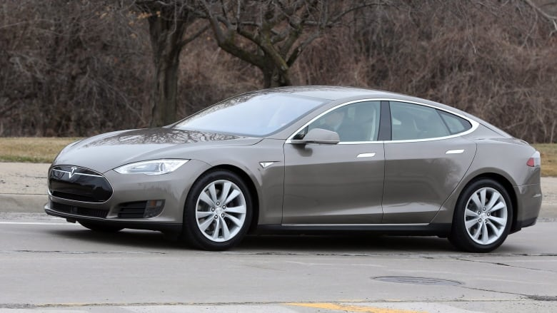 Tesla Model S Car Hacked Shut Off While Driving CBC News - Show me pictures of a tesla car