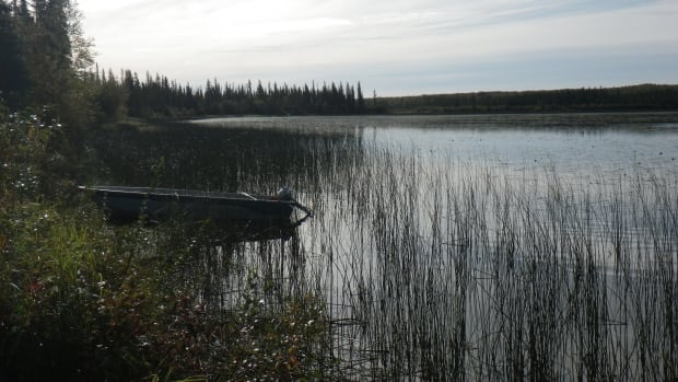 Ekali Lake, near the community of Jean Marie River, N.W.T., is currently home to southern researchers, who are working with the local population to analyze how climate change — and thawing permafrost — will affect mercury levels in lakes and rivers.