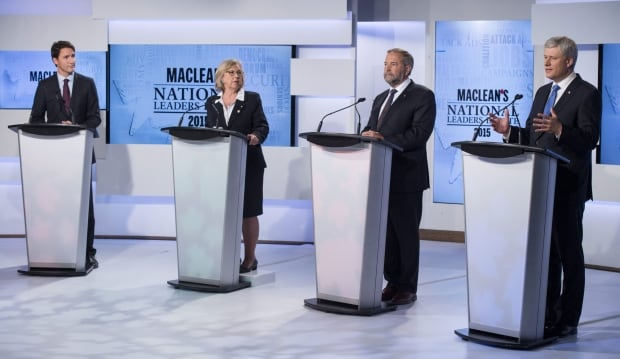 Federal leaders debate in Toronto