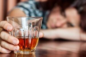 Binge drinking girl alcohol