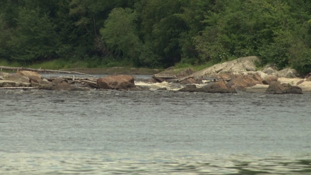 The official name of these rapids on the Gatineau River south of Maniwaki, Que., includes the N-word racial slur.