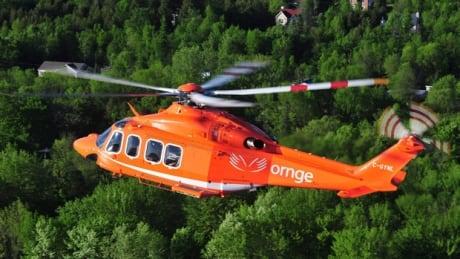 ORNGE helicopter