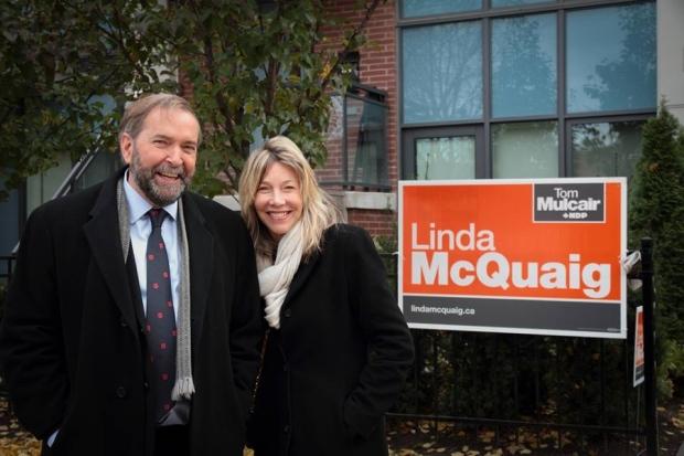 Linda McQuaig, ndp candidate