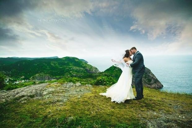 Wedding on Signal Hill