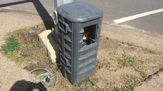 Will roadside photo-radar units like this one in St. Albert be one day used on Edmonton streets?