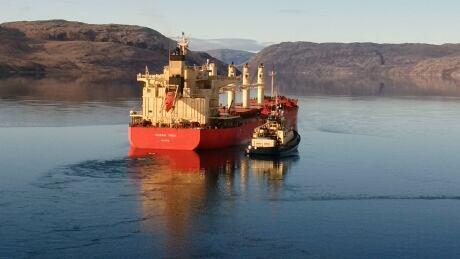 Mary River iron ore