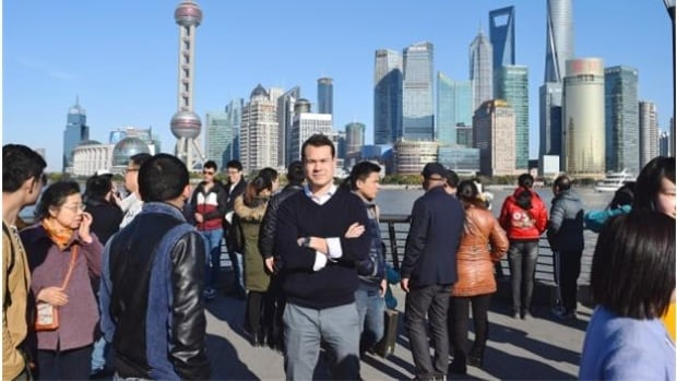 Macdonald Realty vice-president Dan Scarrow moved to Shanghai in February to set up an office targeting Chinese investors.