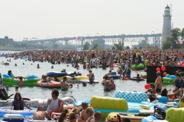 The Port Huron Float Down