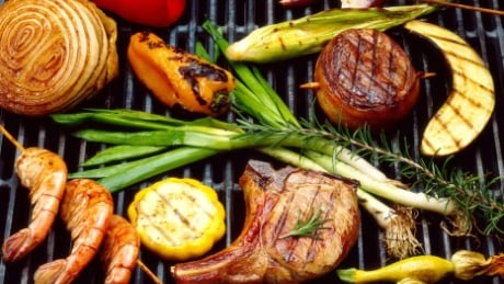 grilled meat summer barbecue