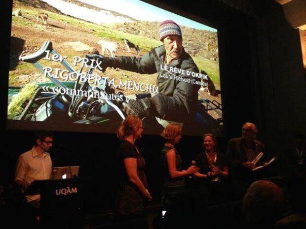 Okpik's Dream wins award in Montreal