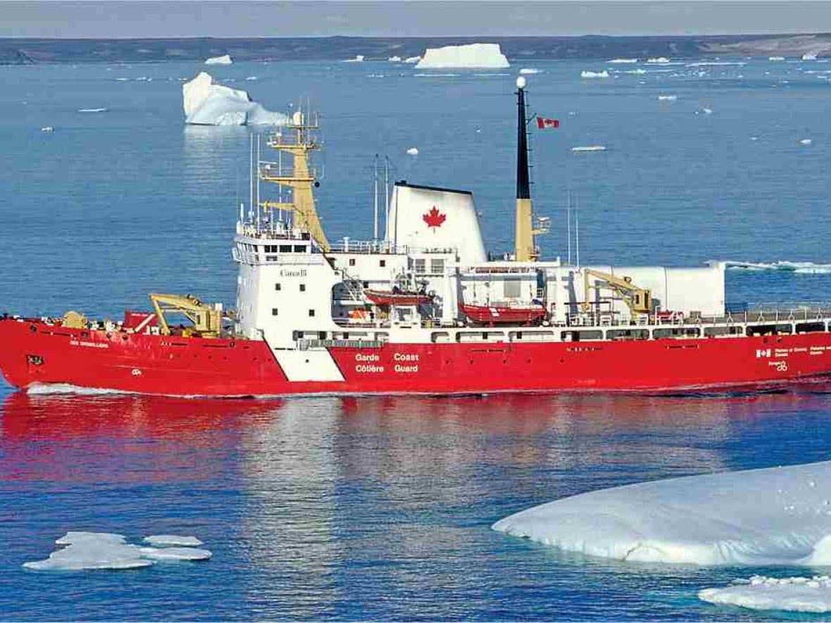 Life in the ice: Meet the crew of the CCGS Des Groseilliers | CBC News