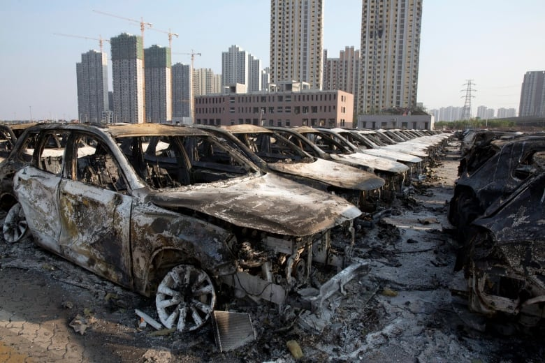 Tianjin, China, explosions: 50 dead, more than 700 injured   CBC News