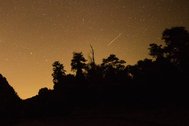 Perseid Meteor Shower Aug 13 2015 Shenandoah National Park