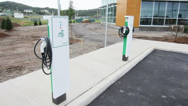 The Town of Marystown has purchased two electric charging stations to accompany its new recreational complex.