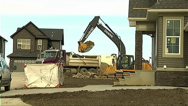 The dip in housing starts in Calgary can be seen as a positive, says one real estate analyst.