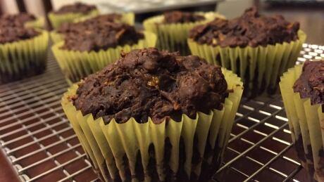 Shannon Scott's chocolate zucchini muffins