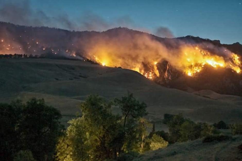 Rock Creek fire
