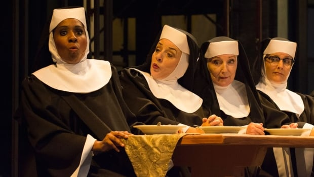 Sister Act plays at Rainbow Stage from Aug. 13 to Sept. 1.