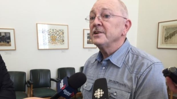 Peter Bowden, a Saskatoon care aide, spoke out in March at the Legislature about senior's care.