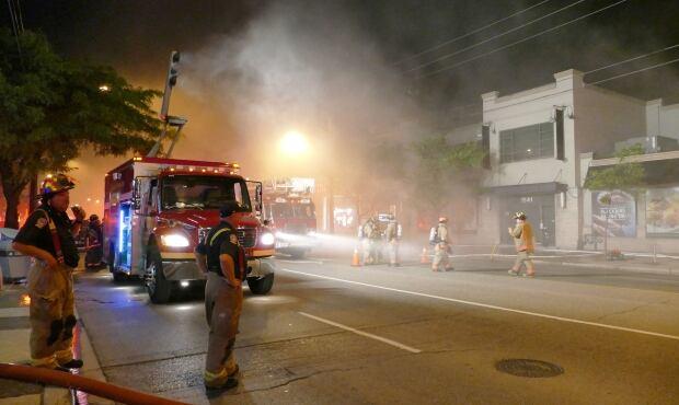 Pusateri's Fine Foods fire