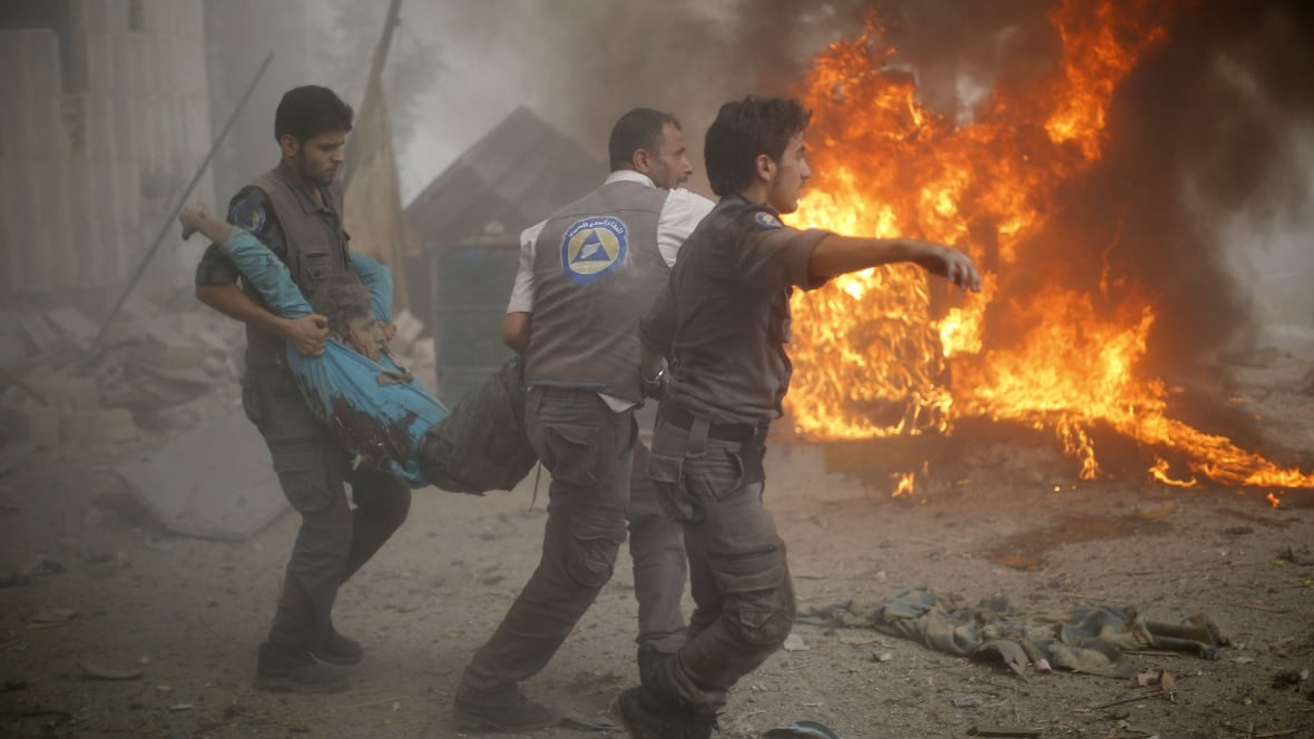 the syrian civil war