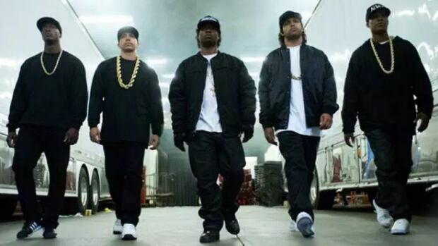 """Angelina Ebegbuzie was """"shocked"""" to see a security guard at a showing of Straight Outta Compton Tuesday night at the SilverCity Windsor Cinema."""