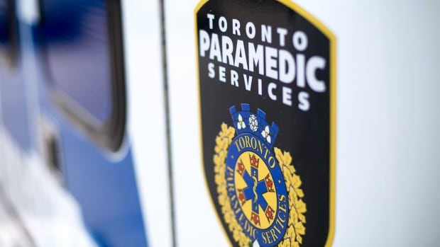 An elderly woman has been taken to hospital with life-threatening injuries after she was hit by a vehicle on Tuesday in the St. Lawrence Market area.