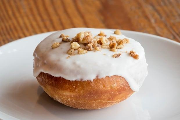 Lucky's doughnut Bismarck