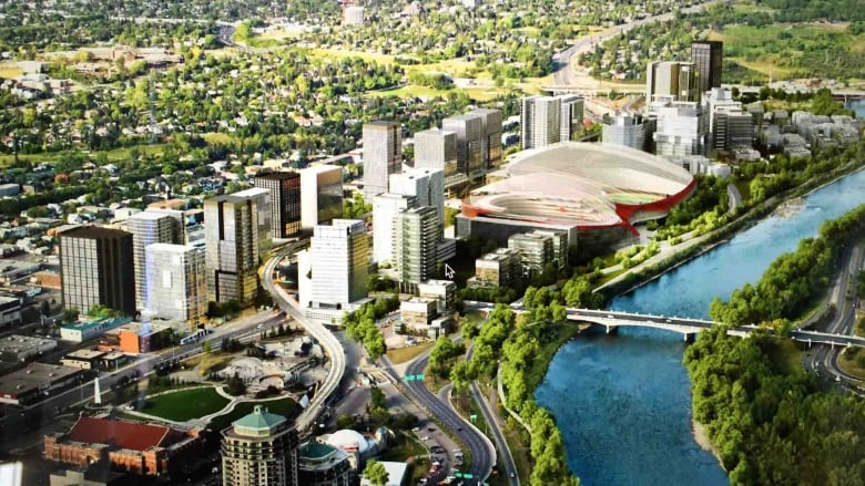 New Calgary Arena For Flames Stampeders In West Village To Cost 900m Cbc News