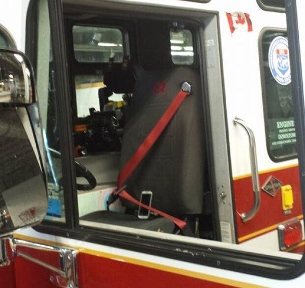 firefighter ride