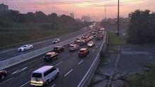 Gardiner Expressway lane closures