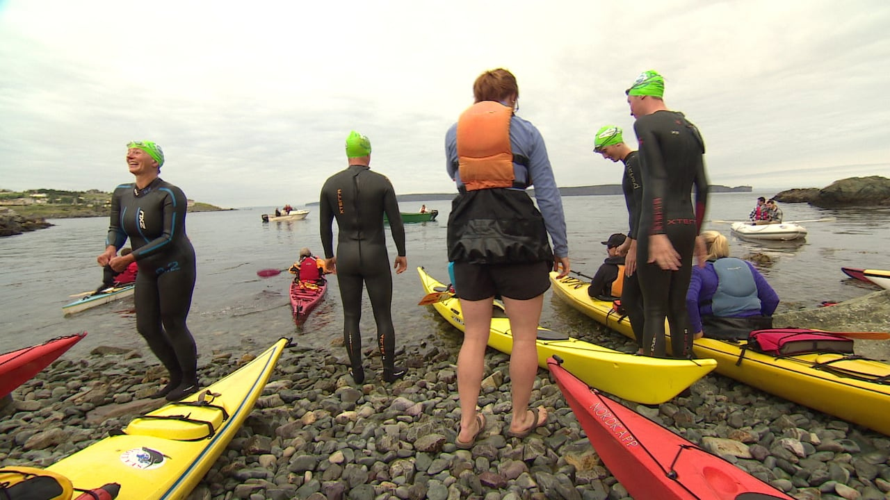 Tickle Swim for mental health grows in popularity | CBC News